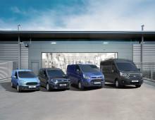 Ford er mest solgte nyttekjøretøymerke i Europa; og  Transit-serien hadde høyeste markedsandel på 20 år