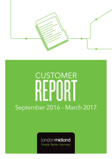 London Midland Customer Report, June 2017