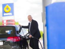 Nu har Statoil diesel på fler pumpar