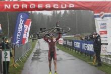 Mohr, Syversen, Opsahl og Hem vant den andre Norges Cupen syklekross i Skien