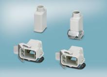 Kompakt kontaktdon för Viktkänsliga tillämpningar