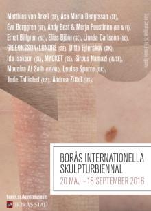 Borås Internationella Skulpturbiennal 2016