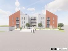 Nyt privat plejecenter i Frederikssund – dialog og byggepladsbesøg