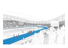 Nu startar bygget för inomhus EM i friidrott