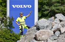 Novemberkåsan intar Volvos demofält i Eskilstuna