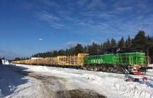 Domsjö Fiber chooses rail transportation through new agreement with Green Cargo