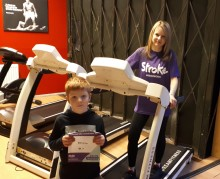 Local mother joins the resolution for the Stroke Association