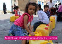 Allmänhetens gåvor till Jemen lindrar akut nöd
