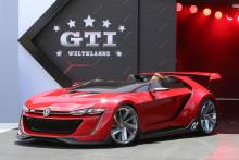 Världspremiär för Wörthersee GTI Roadster – virtuell super-GTI från bilspel blir verklighet