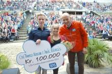 Sportsdansere vant 100.000 kroner