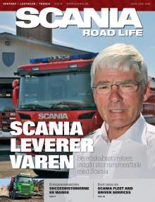 Ny udgave af Scanias kunde- og transportmagasin