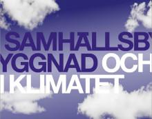 Ny rapport från Svenska Teknik&Designföretagen - Samhällsbyggnad och klimatet