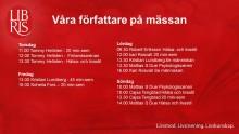 Libris förlag på bokmässan