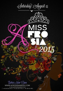Miss AfroAsia UK 2015 - August 15th 2015