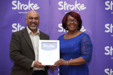 Birmingham stroke survivor receives regional recognition