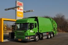 Dansk verdenspremiere på Scania Euro 6-gasrenovationsbil