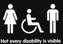 London Midland announces  new toilet signage for 'invisible' conditions
