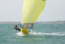 Young sailing duo aim to smash three world records and support two charities