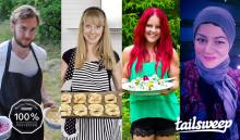 Tailsweep skapar Sveriges största nätverk med influencers inom mat