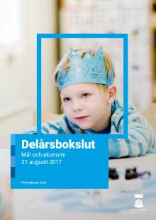 Helsingborgs stads delårsbokslut augusti 2017