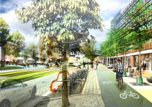 Nya bostäder när Lorensborgsgatan byggs om till stadshuvudgata