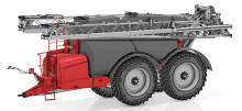 HORSCH Leeb 12 TD – tandem sprayer with a tank capacity of 12,000 litres and an innovative distribution of the vertical load