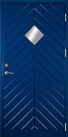 Klassisk paneldörr från Ekstrands - Bavaria 980/990