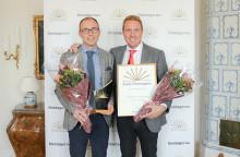 Bröderna Bille på Billes Tryckeri AB i Mölndal är Årets Företagare i Västra Götaland 2018