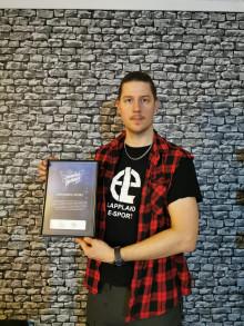 Lappland E-sport utses till Månadens Nätängel januari 2020