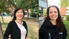 Huge får två nya distriktschefer