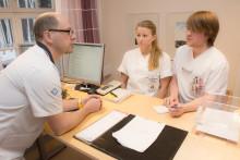 Läkarstudenter får undervisning med egna patienter