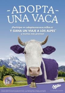 Milka regala un viaje a los Alpes con su nueva campaña 'Adopta una vaca'