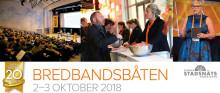 Bredbandsbåten 2-3 oktober 2018