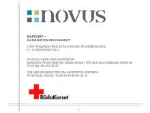 Rapport om ensamhet - Novus november 2011