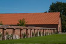 Slottet Voergaards imponerende lade