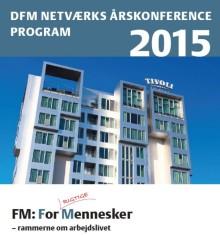 Coor på talerstolen på DFM netværks årskonference