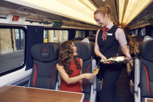Myleene adds a touch of Klass to Virgin Trains' stylish new fleet