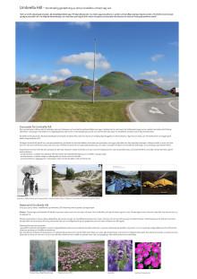 Skissförslag av Lena Ignestam och Carina Zunino, Zunino Ignestam Studio: Umbrella Hill
