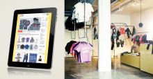 Oii Store – handla barnkläder med en iPad