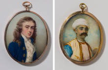 Nyförvärv: Tre engelska porträttminiatyrister