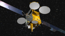 EUTELSAT 9B satellite gets to work