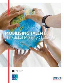 IPSOS-undersökning om intresset av flytta utomlands med jobbet