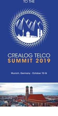 Invitation CreaLog Telco Summit München 2019