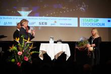 Exceptionell entreprenör utsedd till årets Start-Up Stockholm Stipendiat