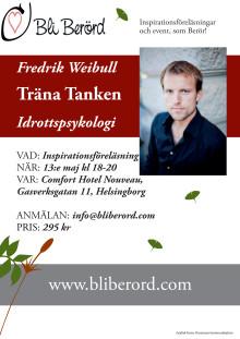 Träna tanken med Fredrik Weibull i Helsingborg