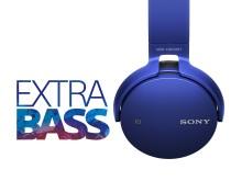 É tudo uma questão de graves – a nova gama de produtos de áudio EXTRA BASS da Sony