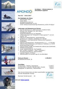 Reisebeschreibung Abenteuer Schwedisch Lappland