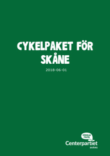 Cykelpaket för Skåne