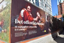 Guidade visningar av konst vid Centralstationen 8-12 oktober