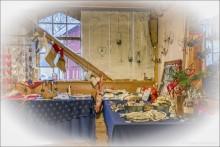 Dags för julmarknad på Perssons Magasin i Löa